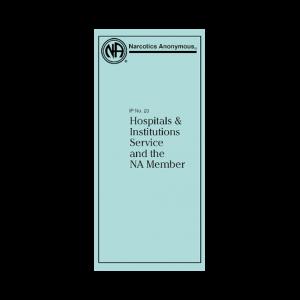 IP #20 H&I Service & NA Member