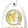 Welcome Key Tag